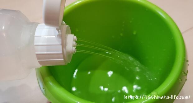 かき氷シロップ シャワー