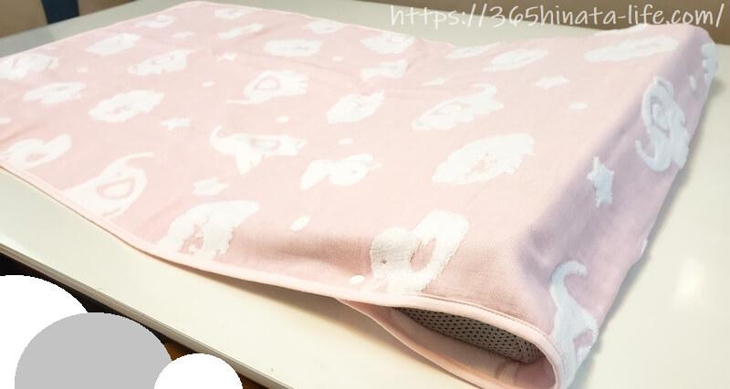 吐き戻し防止枕 10度の傾斜が赤ちゃんに最適