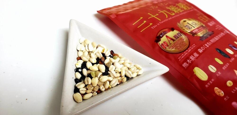 39雑穀米の実際のモニター写真