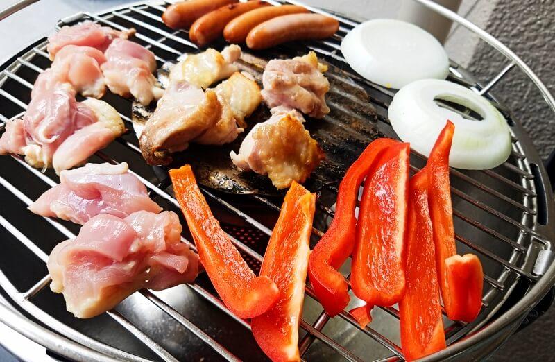 ロータスグリルで焼き肉